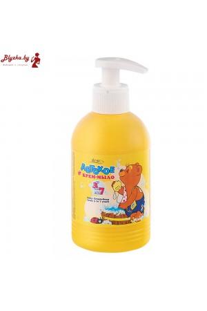 Детское крем-мыло от 3 до 7 лет